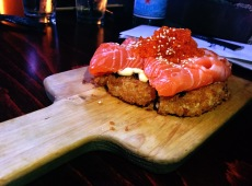 Original Salmon Sushi Pizza